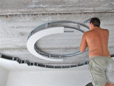 як зробити дворівневу стелю з гіпсокартону
