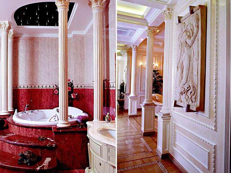 античний стиль в архітектурі