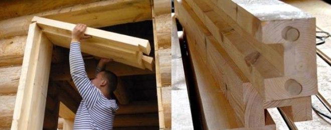 Як встановити пластикові вікна в дерев'яному будинку