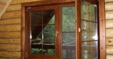 пластикові вікна в дерев'яному будинку