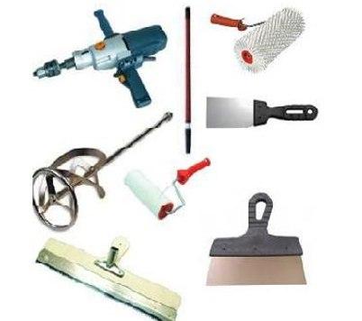 інструменти для заливки наливної підлоги