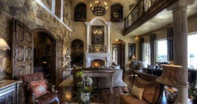 готичний стиль в інтер'єрі