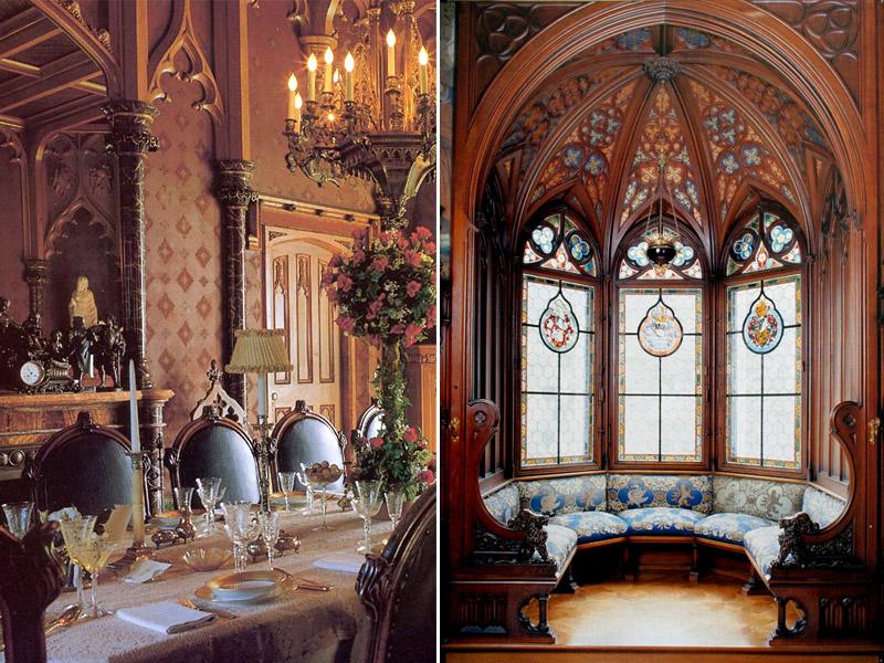 готичний стиль інтер'єру
