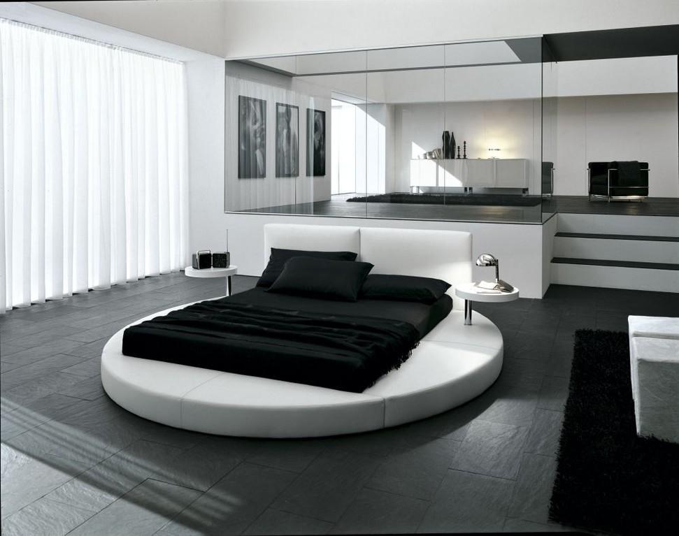 інтер'єр спальні хай-тек