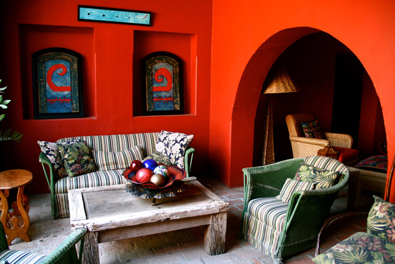 мексиканський стиль в інтер'єрі