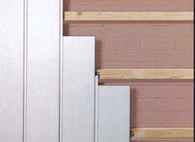 Схема монтажу стінових панелей