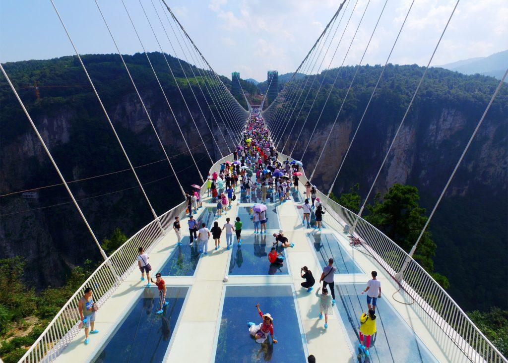 скляний міст в китаї