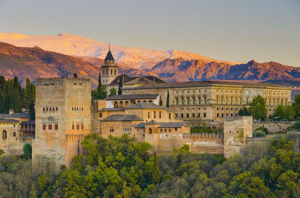Альгамбра Іспанія фото