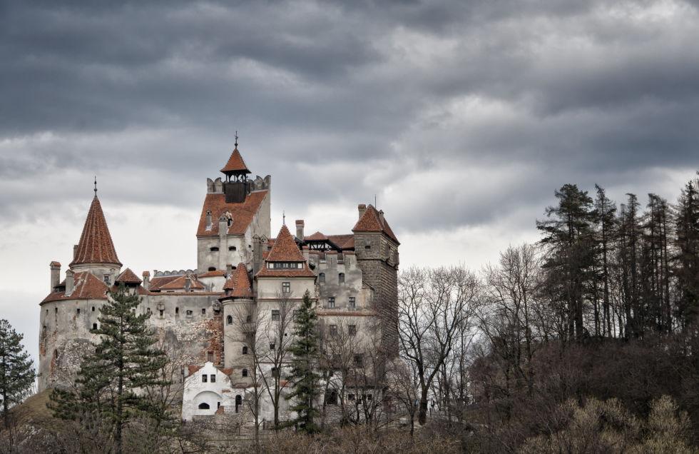 Замок Бран фото
