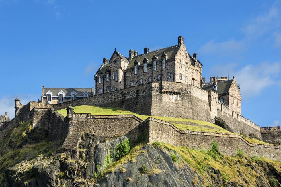 Единбурзький замок фото