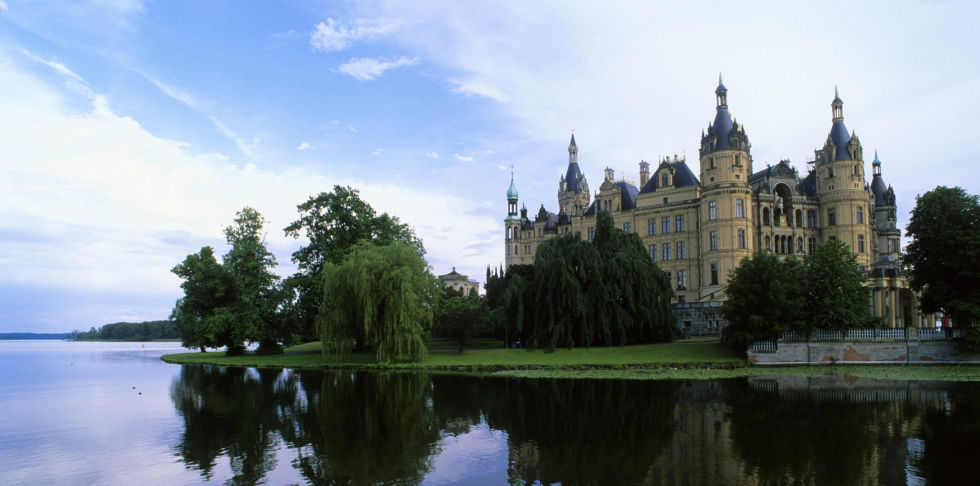 Шверінський замок фото