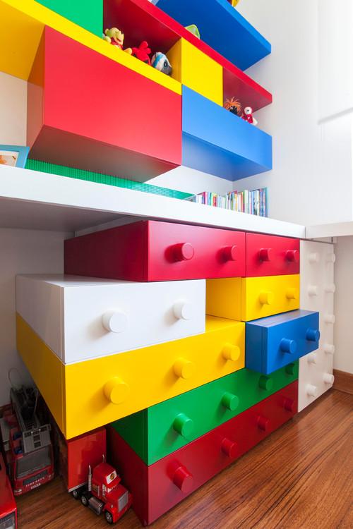 дитяча кімната в стилі лего