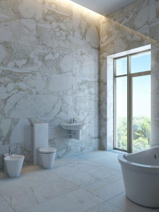плитка з натурального каменю для ванної кімнати
