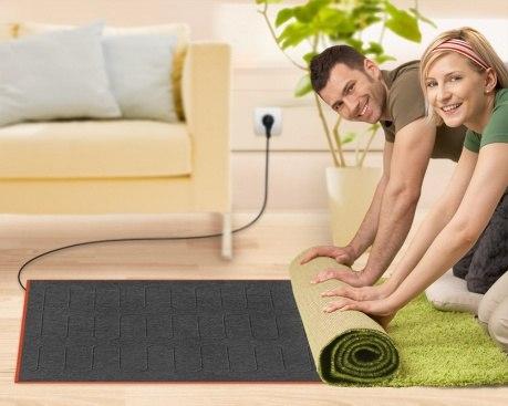 Мобільна інфрачервона тепла підлога