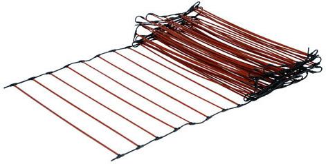 Інфрачервона стрижнева тепла підлога