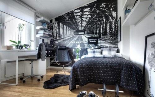 cучасний дизайн спальні фото
