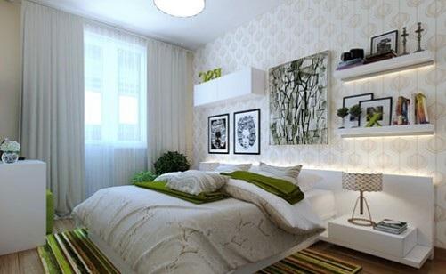 дизайн інтер'єру спальні в сучасному стилі
