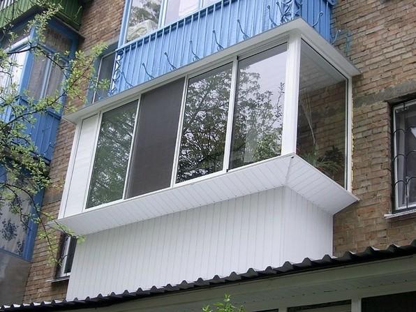 ремонт балкона в хрущовці