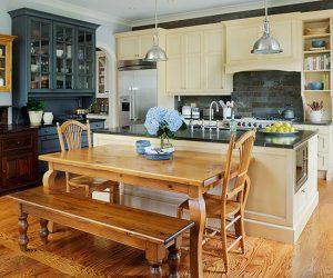 кухня в стилі кантрі фото