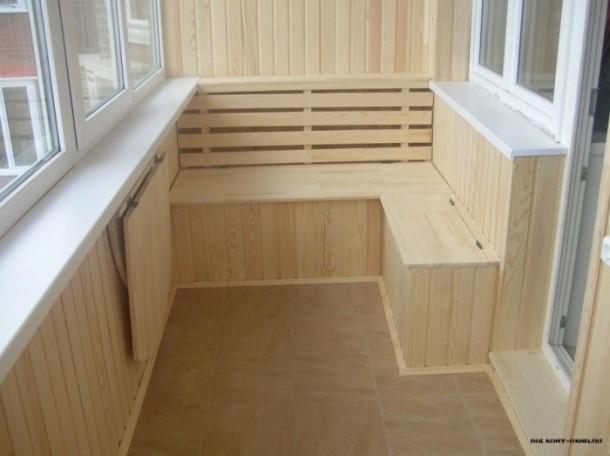 підлога на балкон