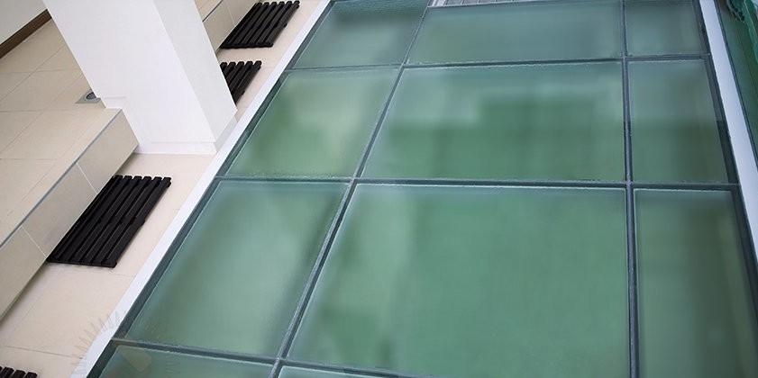 скляні підлоги фото