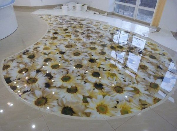 3д підлога фото