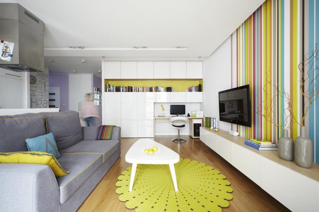 інтер'єр квартири-студії