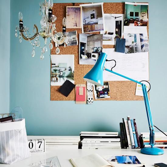 маленький домашній офіс фото