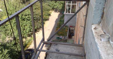 Капітальний ремонт балкона в хрущовці