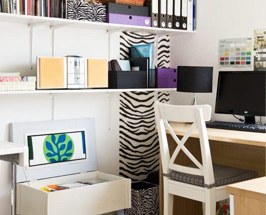 маленький домашній офіс