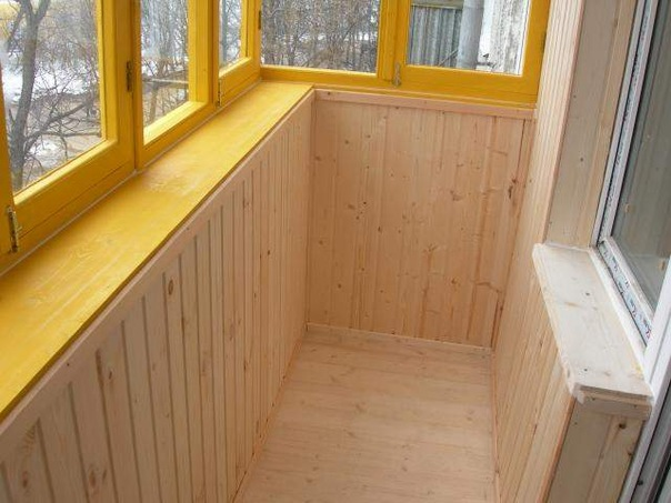 оздоблення балкона в хрущовці фото