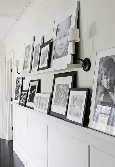 декорування стіни передпокою