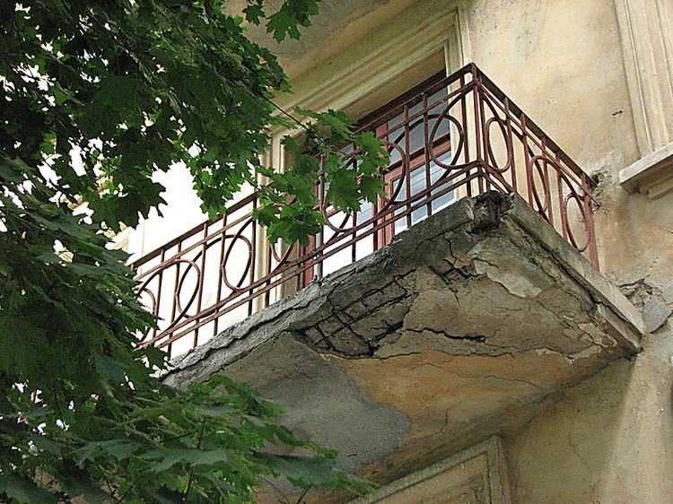 ремонт балкона фото