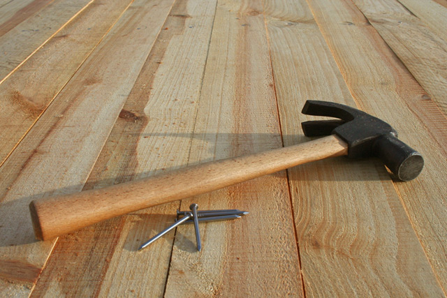 вирівнювання дерев'яної підлоги