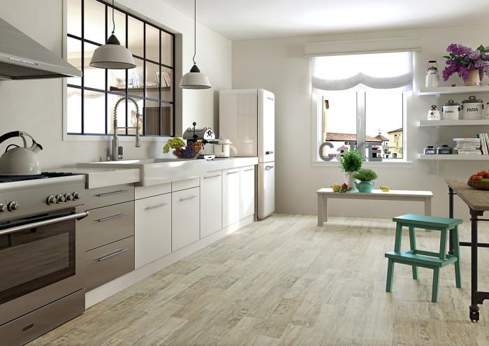 підлога на кухні своїми руками