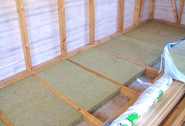 Підняття і утеплення підлоги на балконі