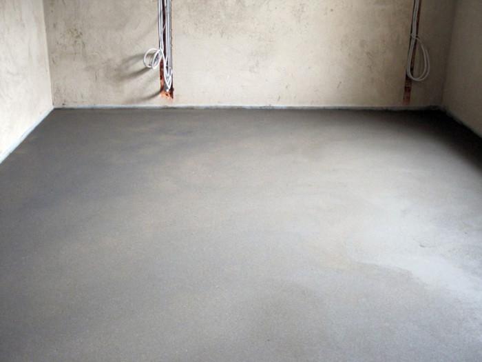 цементна стяжка підлоги