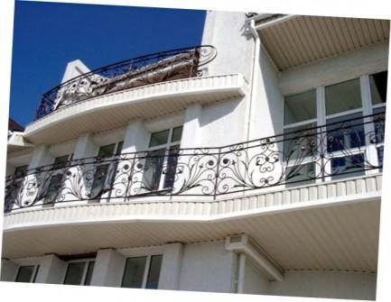 ковані перила на балкон