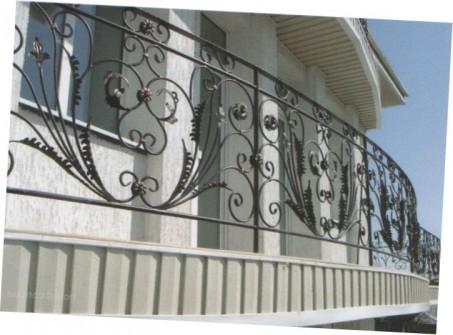 ковані огорожі для балкона