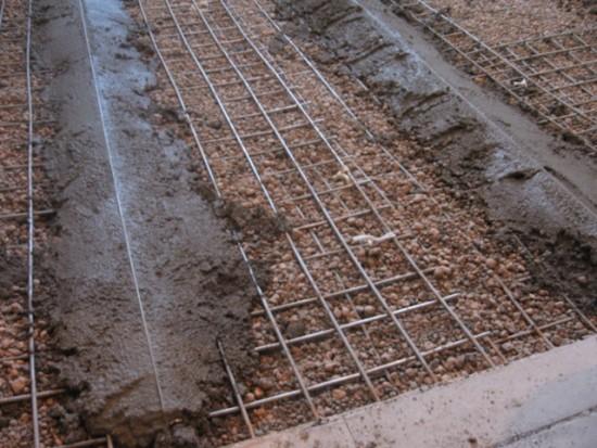 бетонна підлога по грунту