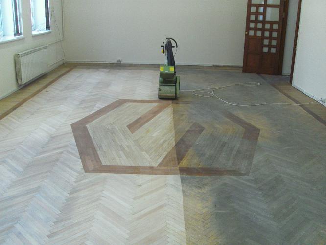 циклювання старої підлоги