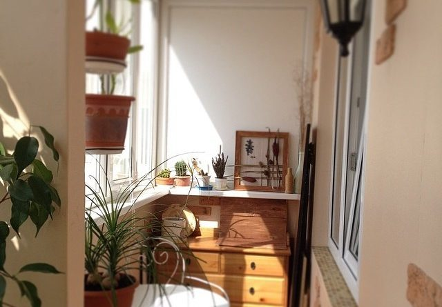 інтер'єр балкону фото