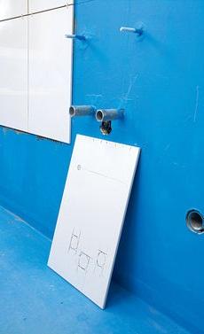 как положить плитку на стены в ванной комнате