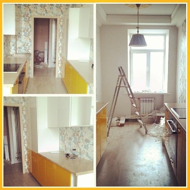 ремонт кухні 6 кв. м фото