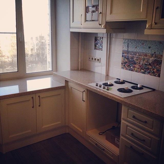 ремонт кухни 6 кв м фото