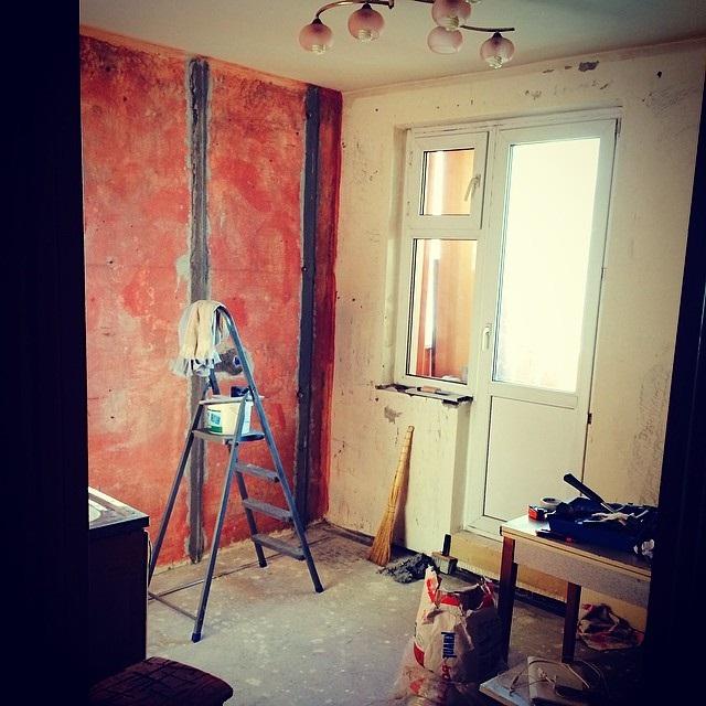 ремонт кухні 9 кв. м. фото