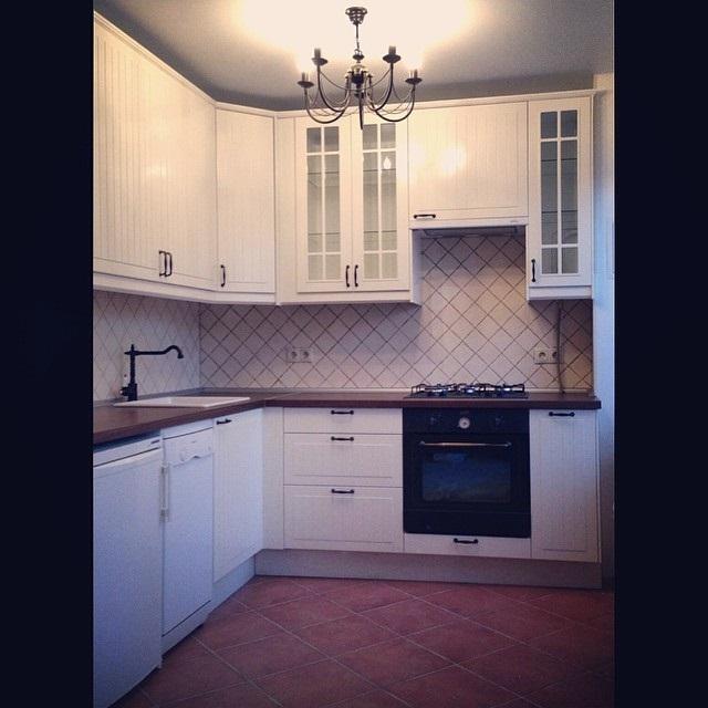 ремонт кухни 9 кв. м. фото