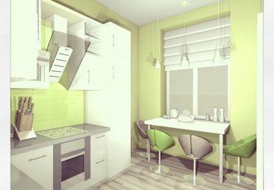 Ремонт кухні в хрущовці.