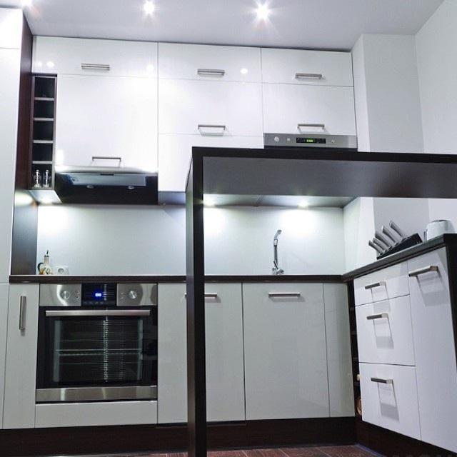 Ремонт кухні в хрущовці фото