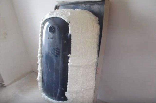 шумоізоляція сталевої ванни фото